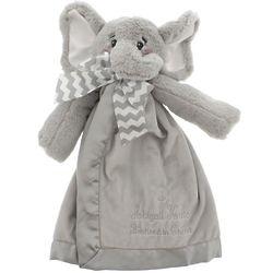 Personalized Baptized in Christ Elephant Snuggler