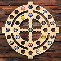Crosshairs Beer Cap Holder for Gun Lovers