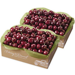 Two Boxes of Bing Cherries