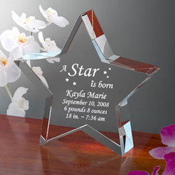 Personalized A Star is Born Keepsake