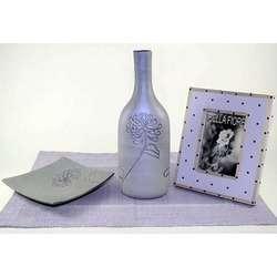 Lilac Vase Gift Set