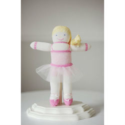 Personalized Ballerina Pal Knit Doll