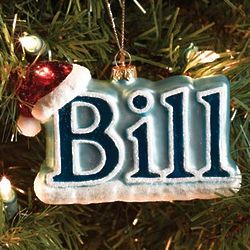 Bill Christmas Ornament