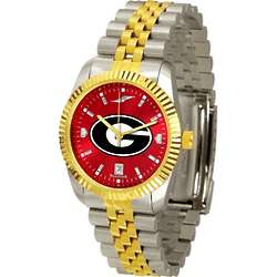 Georgia Bulldogs Executive AnoChrome Men's Watch