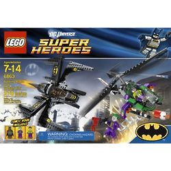 Batwing Battle Over Gotham City Lego Set