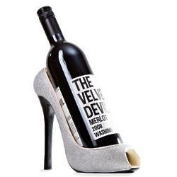 Glitz n Glam Shoe Wine Bottle Holder