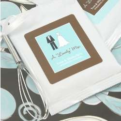 Personalized Bridal Shower Hot Chocolate Favors