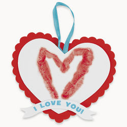Heart Handprint Valentine Sign Craft Kit