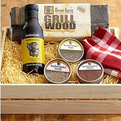Bourbon Barrel BBQ Gift Box