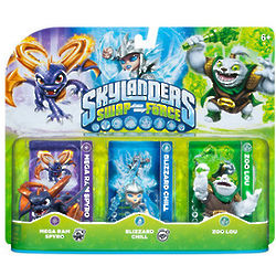 Skylanders Swap Force Character Triple Pack 2