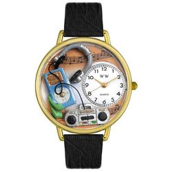 Gold Music Lover Watch