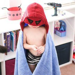 Robot Hooded Towel