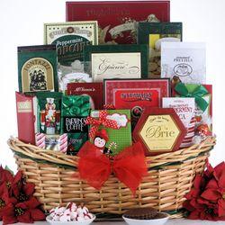 Tis the Season Large Christmas Gourmet Gift Basket