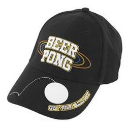 Beer Pong Bottle Opener Baseball Cap