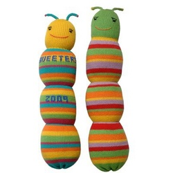 Personalized Wiggleworm Doll