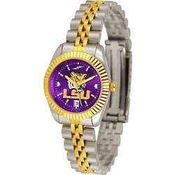Louisiana State Tigers Executive AnoChrome Ladies Watch