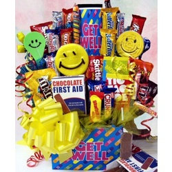 Get Well Soon Candy Bouquet