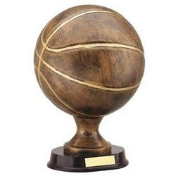 Full Size Basketball Trophy