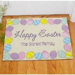 Happy Easter Personalized Doormat