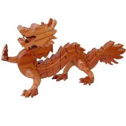 Dragon 3D Jigsaw Wooden Puzzle Brain Teaser