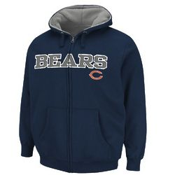 Mens NFL Chicago Bears Lined Hoodie