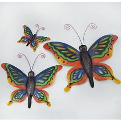 Painted Tin Butterfly