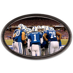 Going the Distance Indianapolis Colts Personalized Wall Decor