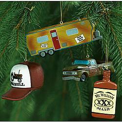 redneck christmas ornament set - Redneck Christmas Decorations