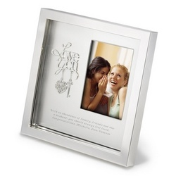 Silver Love Shadowbox Frame