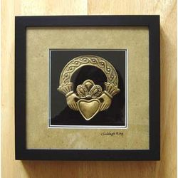 Claddagh Ring Shadow Box