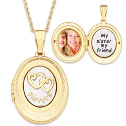 Sisters Photo Locket