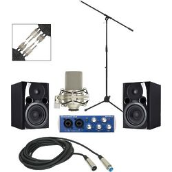 Audiobox USB Recording Package