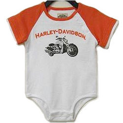 Infant Boys Harley Davidson Creeper