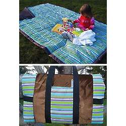 Take Anywhere Striped Outdoor Blanket