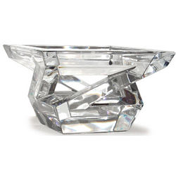 Baccarat Architecture Crystal Bowl