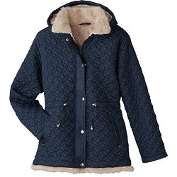 Womens Totes Quilted Parka