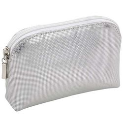 Bedazzle Small Silver Pouch