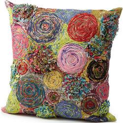 Lollipop Design Throw Pillow