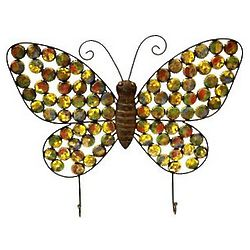 Bottlecap Butterfly Wall Hook