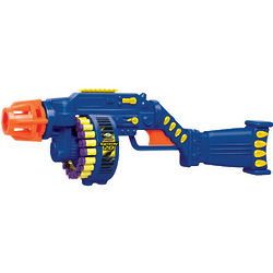 Ruff Stuff Tommy 20 Foam Dart Air Blasters Motorized Toy Gun