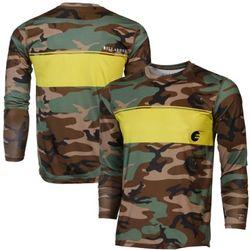 Camo Long Sleeve Rashguard Shirt