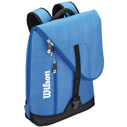 Small Blue and Black Tennis Backpack