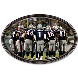 Going the Distance New England Patriots Personalized Wall Decor