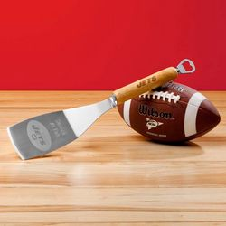 NFL Team Personalized BBQ Spatula and Bottle Opener