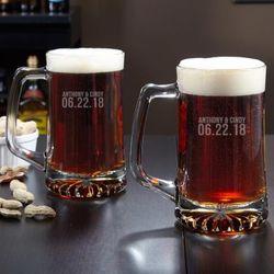 Better Together Custom Beer Mugs