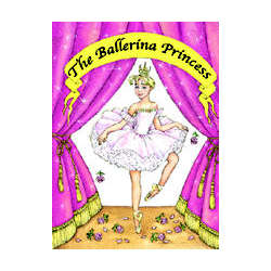 The Ballerina Princess Personalized Book