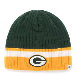 Kids Green Bay Packers Cuffless Knit Hat