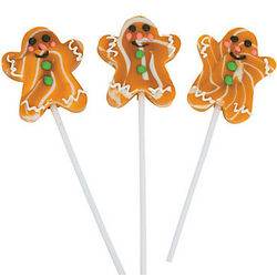Gingerbread Swirl Pops