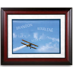 Personalized Skywriter Print