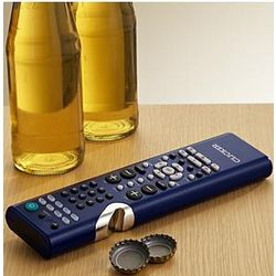 Universal Remote Control + Bottle Opener